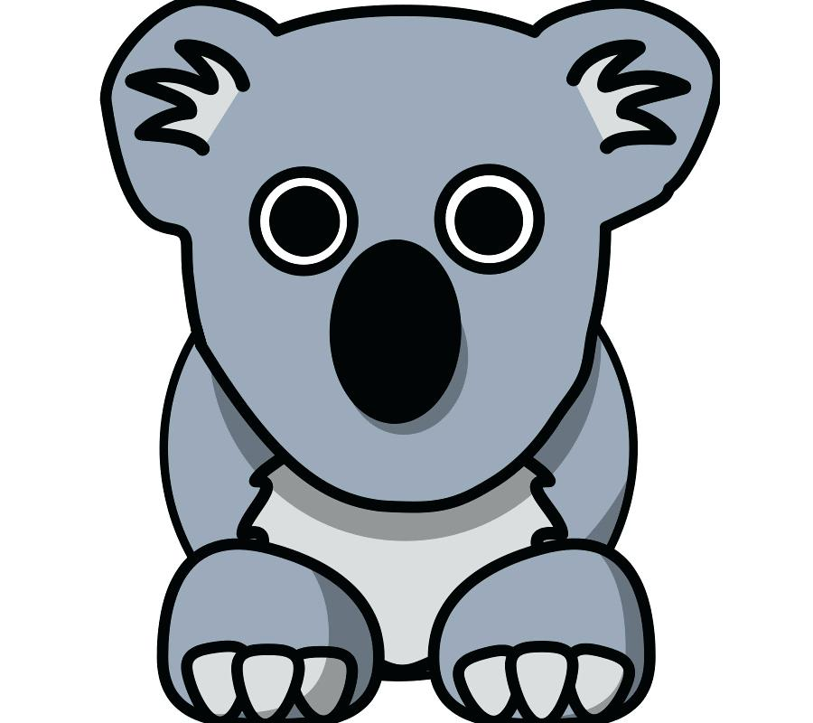 900x800 Clip Art Koala Download A Koala Clip Art Clip Art Koala Bear
