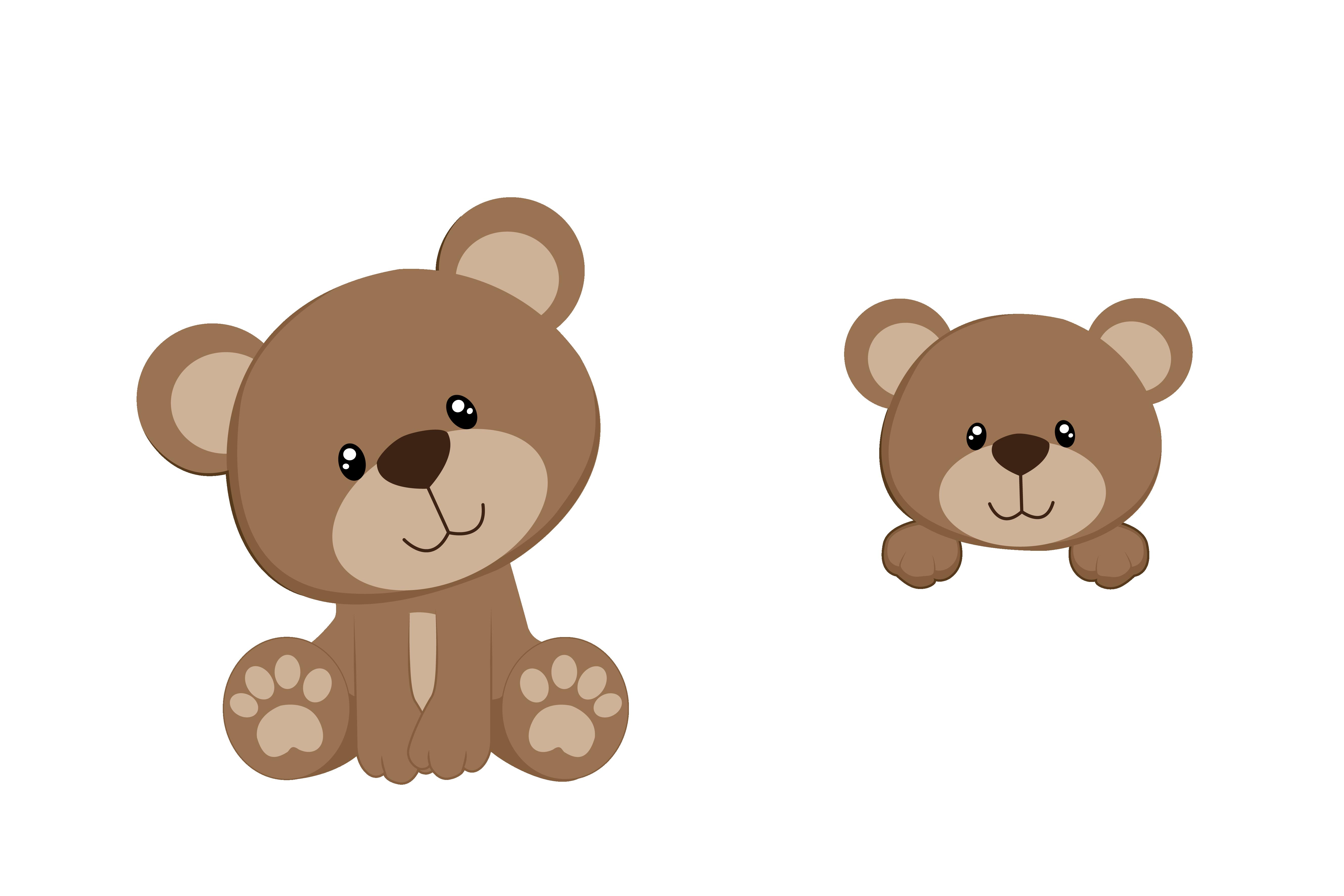 5315x3543 Teddy Bear Baby Shower Clipart