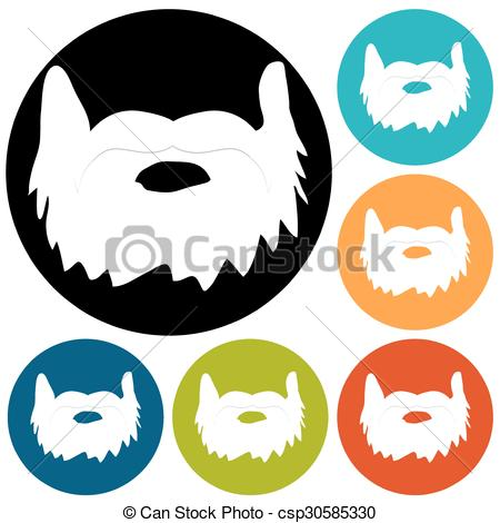 450x470 Beard Icon Vectors