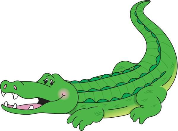 600x440 Crocodile Clipart Clipartlook