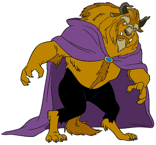 500x465 The Beast And The Prince Clip Art Disney Clip Art Galore