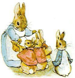 Beatrix Potter Clipart