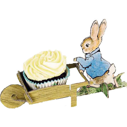 444x444 Beatrix Potter's Peter Rabbit Cupcake And Party Decor Fancy