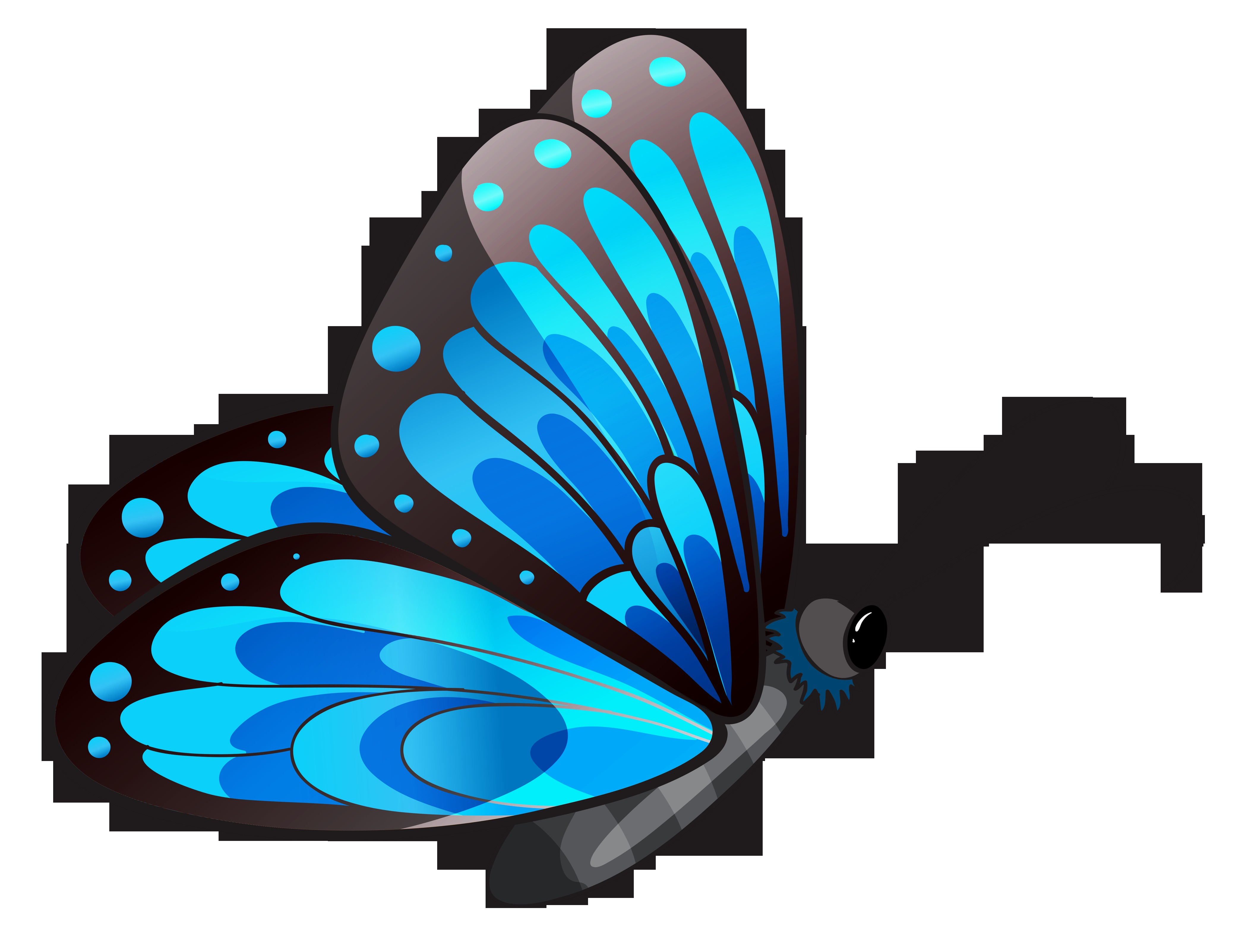 4155x3205 Clipart Butterfly Beautiful Butterfly Clipart Graphics Images