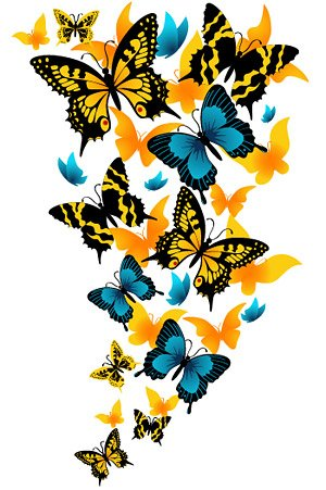 300x451 Free Beautiful Butterfly Clipart And Vector Graphics