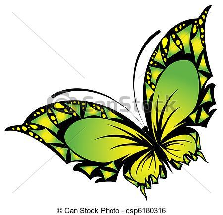 450x434 Vector beautiful butterfly clip art vector