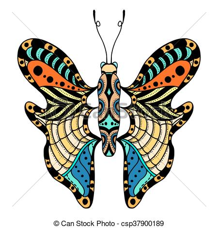 450x470 Vector Beautiful Butterfly. Beautiful Butterfly. Vector Vector