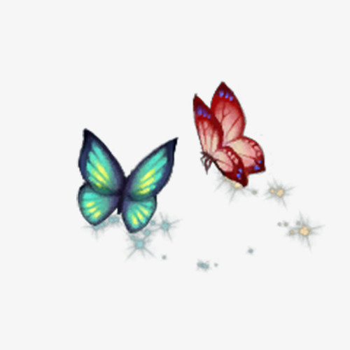 500x500 Beautiful Butterfly Clip, Romantic, Small Fresh, Png Png Image