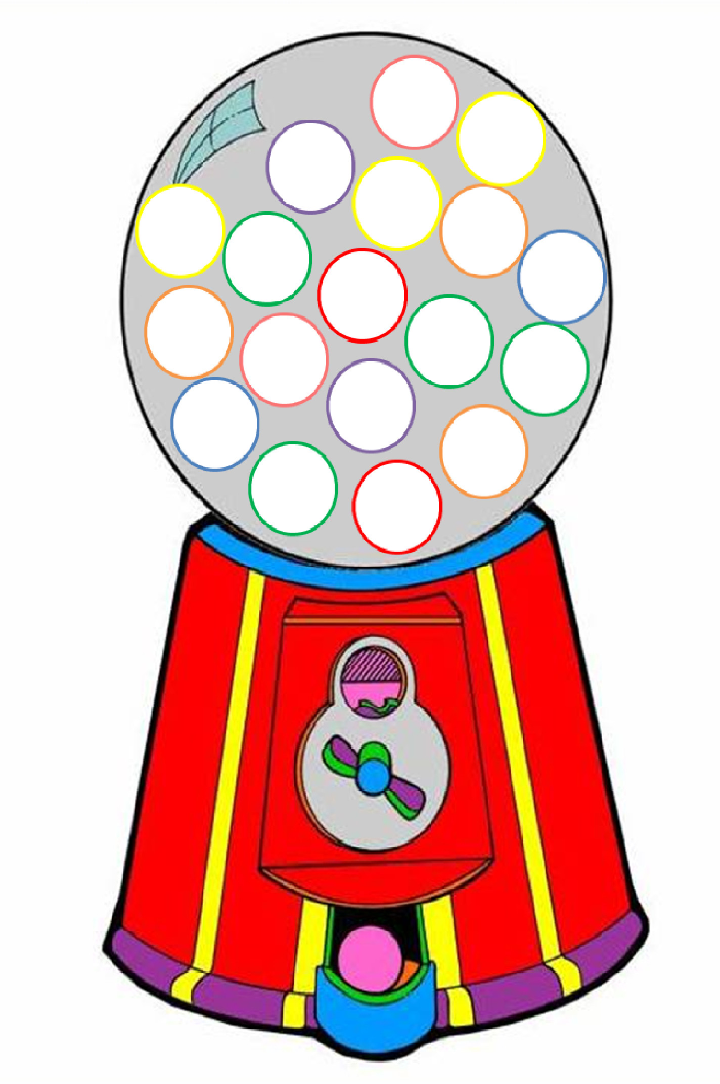 1424x2144 10 Goosegorilla Clipart Preview Gumball Machine C Hdclipartall