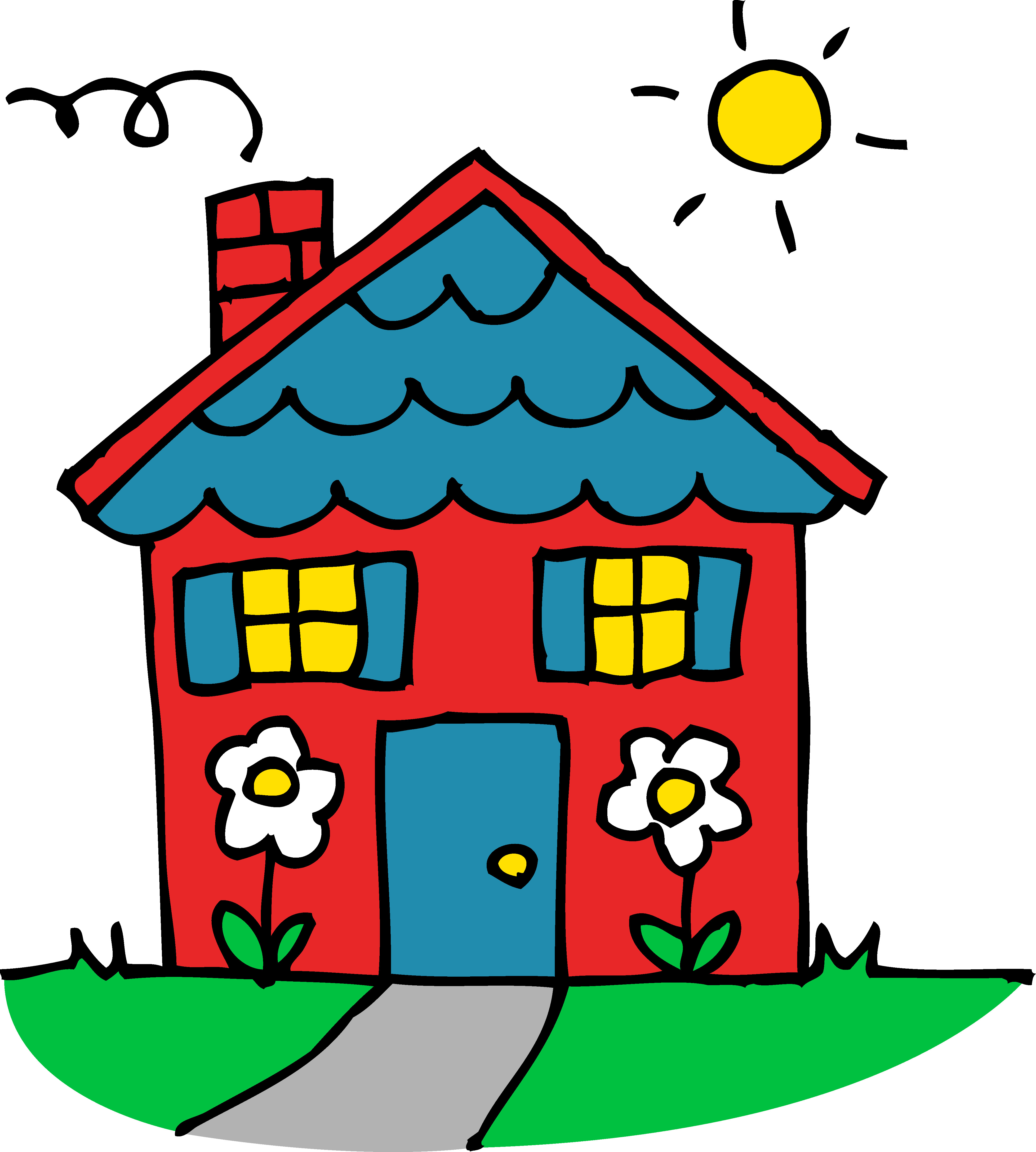 4377x4868 Free Houses Images Download Clip Art On Beautiful Clipart