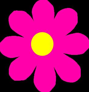 291x300 Pretty Pink Flower Clip Art