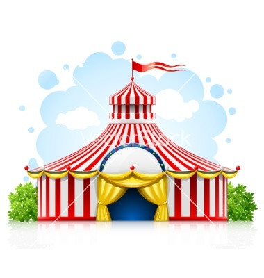 380x400 Beautiful Circus Clipart Silhouette Clip Art Circus Tent Bing