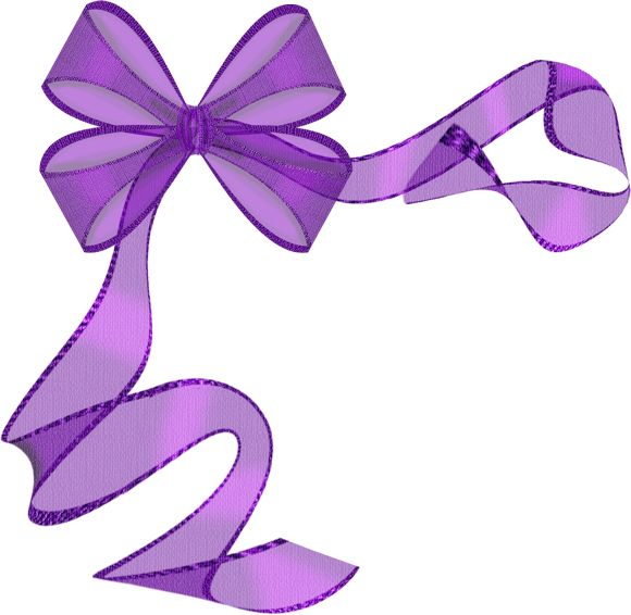 580x566 Beautiful Clipart Purple Bow