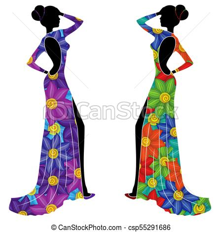 450x470 Beautiful Ladyes Long Gowns. Beautiful Graceful Ladyes