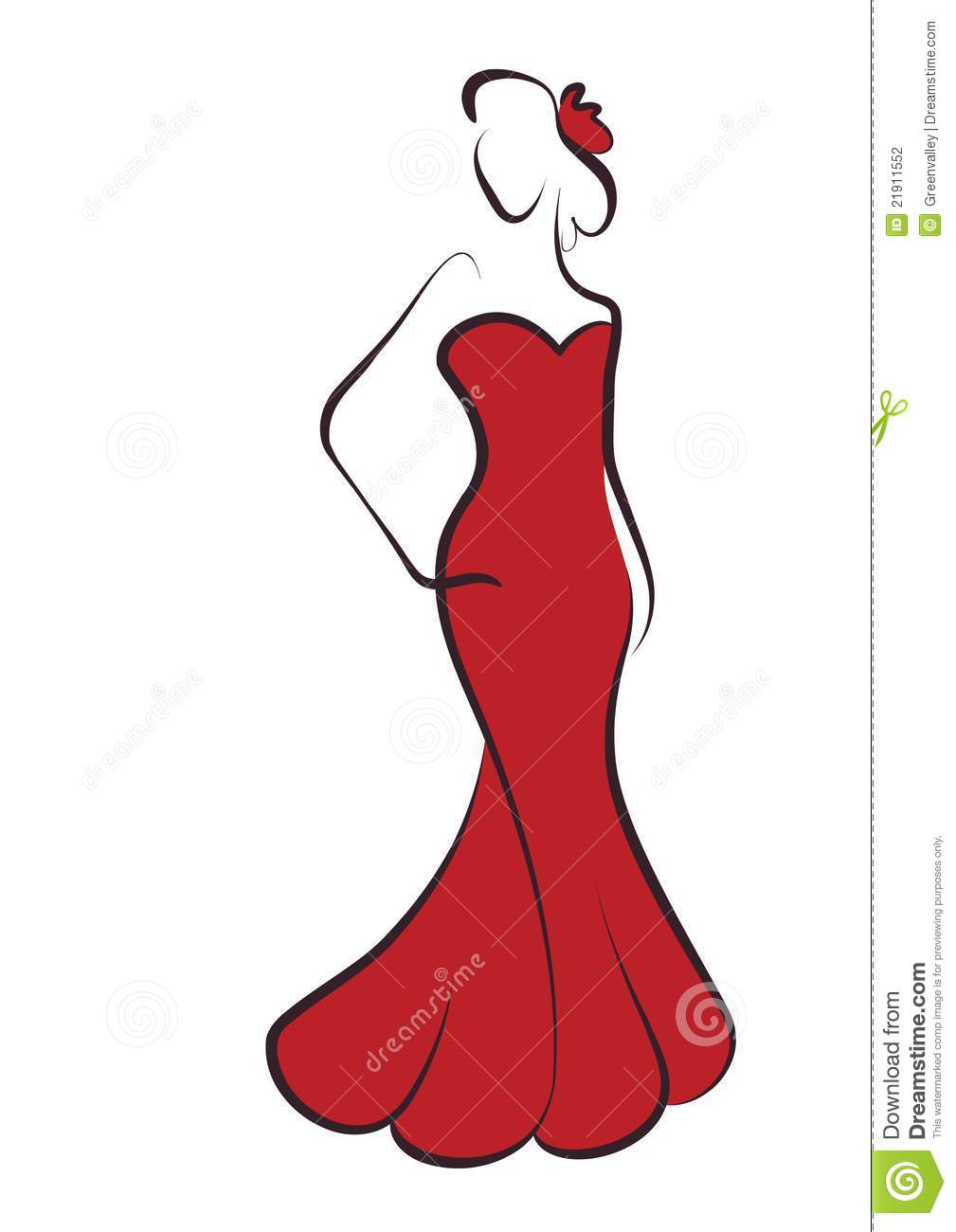 1009x1300 Red Dress Clipart Clipart Panda