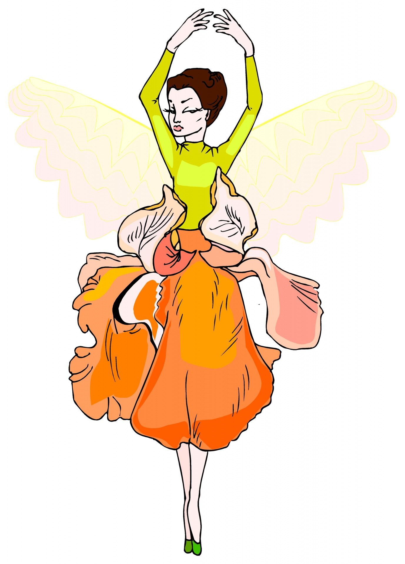 1377x1920 Cartoon Pictures Of Fairies