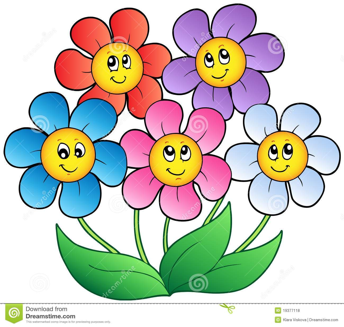 Beautiful flower clipart at getdrawings free for personal use 1300x1238 flower cartoon pictures clip art printable in amusing five flowers izmirmasajfo
