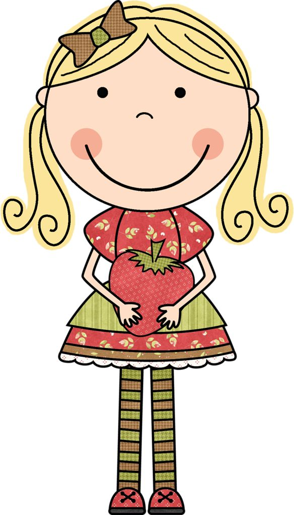 Beautiful Girl Clipart