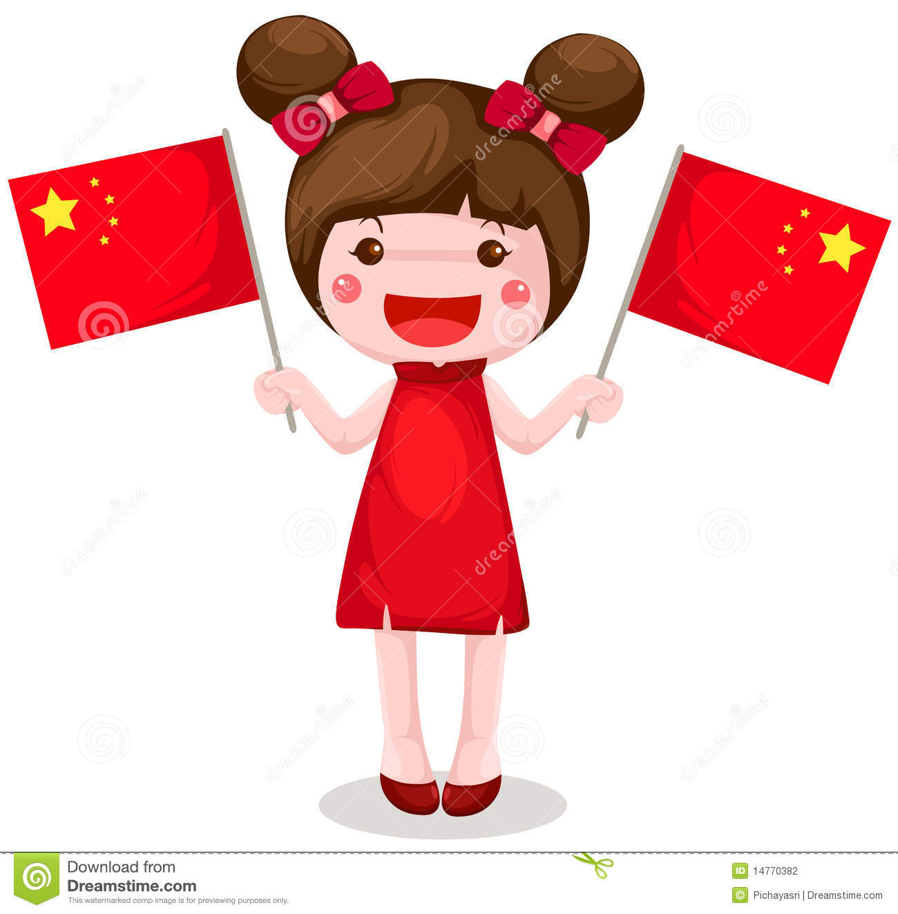 1300x1323 Chinese Girl Clipart