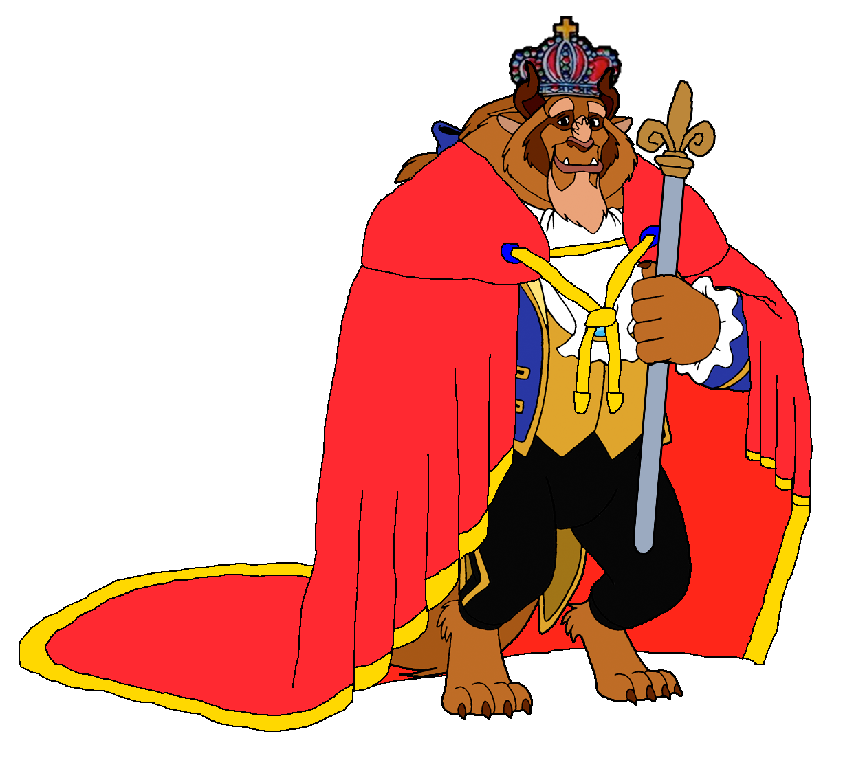 1226x1103 Beast Clipart Prince