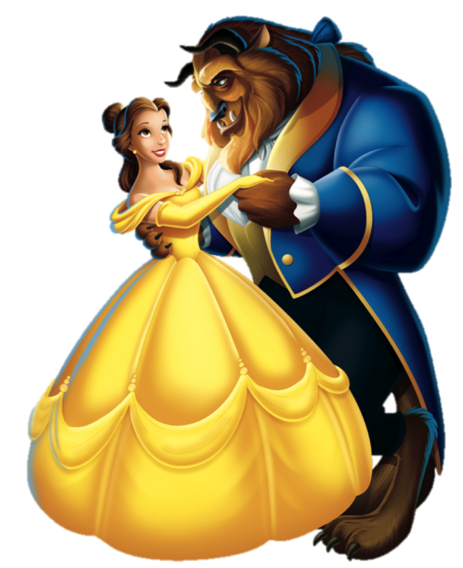 917x1125 Beauty And The Beast Png Clipart Png Mart