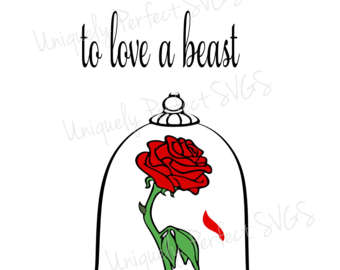 340x270 Red Rose Clipart Beauty And The Beast Rose 3846682
