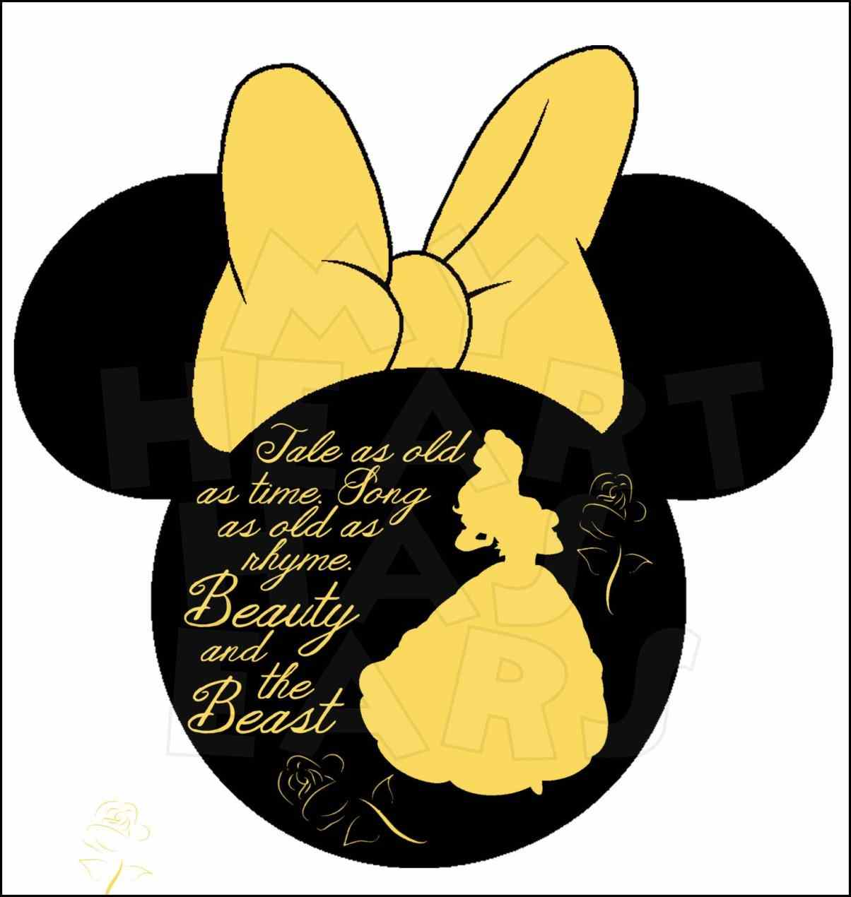 1204x1270 Beauty And The Beast Clipart Free