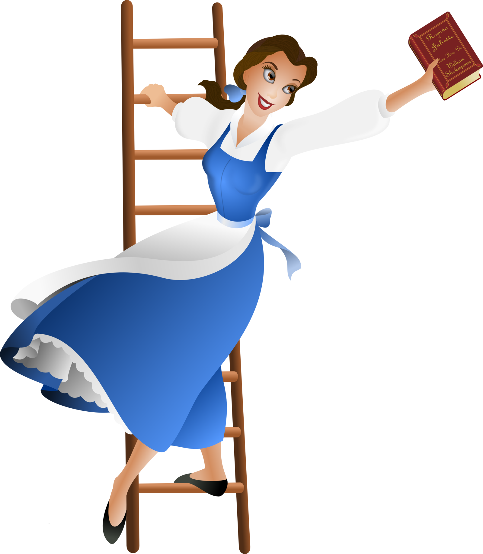 1600x1833 Beauty And The Beast Transparent Png Png Mart