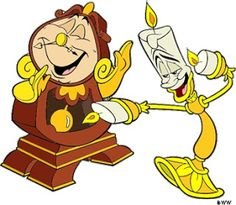 236x205 Lumiere And Cogsworth Beauty And The Beast Cogsworth