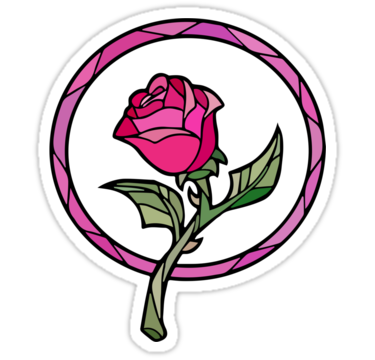 375x360 Rose Clipart Beauty And The Beast