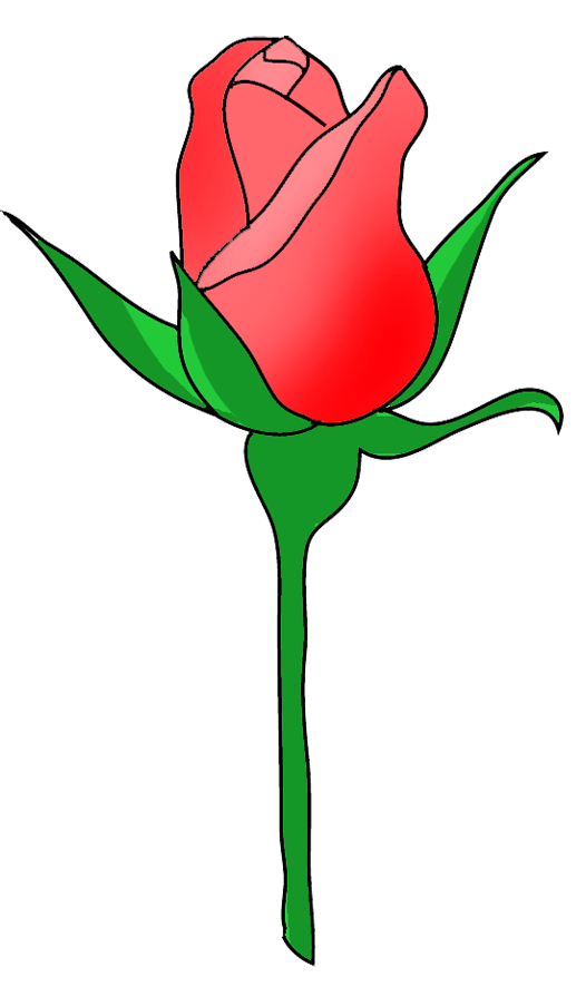 526x886 Brilliant Design Clip Art Rose Flower Image Gallery Useful Floral