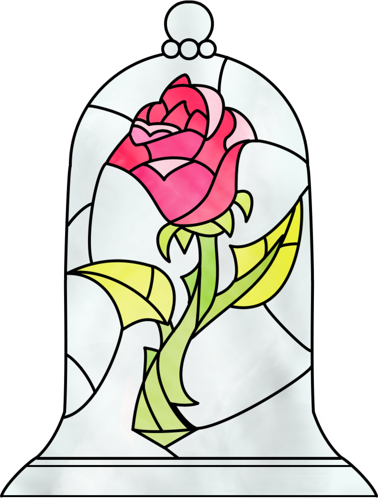 778x1028 Beauty And The Beast Rose By ~dosiguales On Disney