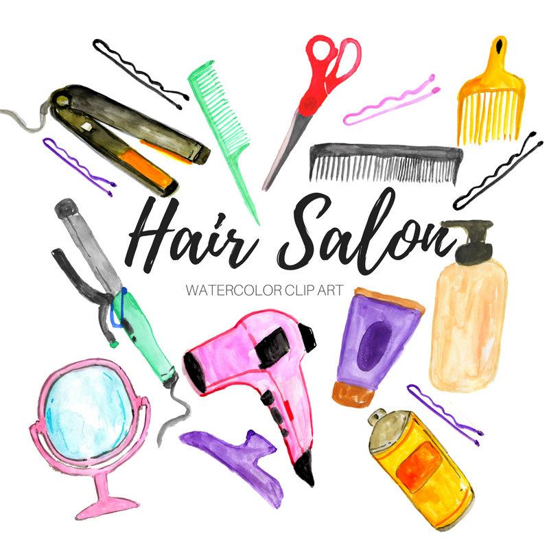 800x800 Hair Salon Clip Art