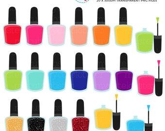 340x270 Makeup Clipart Set Clip Art Set Of Lipstick Nail Polish
