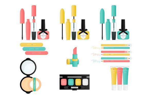580x386 Pretty Things Makeup Clip Art Clip Art, Art Illustrations And Makeup