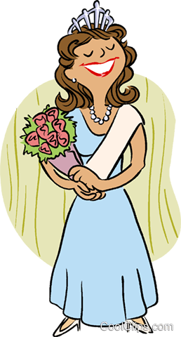 258x480 Beauty Queen Royalty Free Vector Clip Art Illustration Vc016003