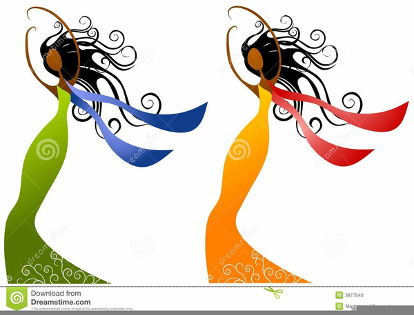 600x457 African American Beauty Salon Clipart Free Images