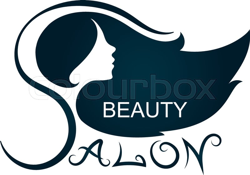 800x561 Beauty Salon And Hairdresser Silhouette For Business Stock