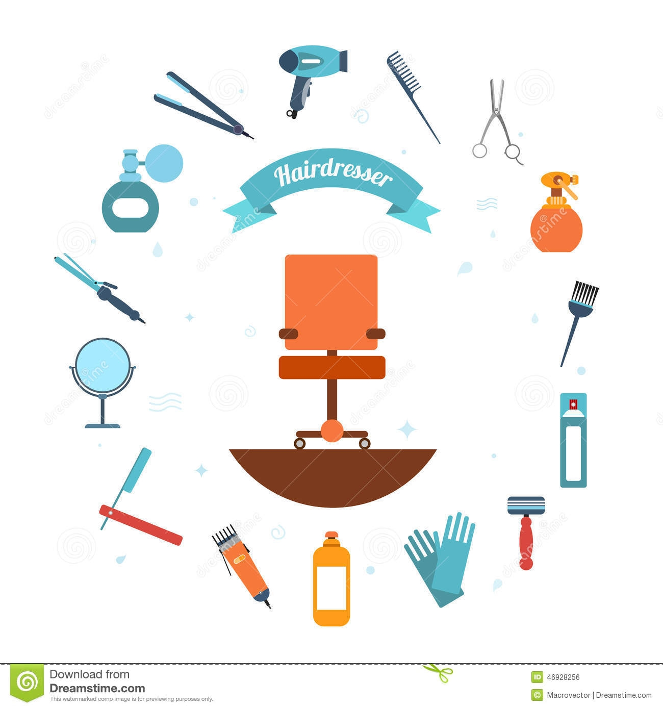 1300x1390 Chairs Hairdresser Stock Illustrations, Vectors, Amp Clipart