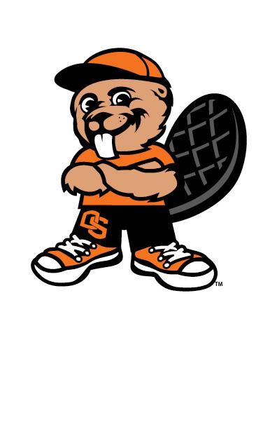 396x612 Beaver Clipart Mascot