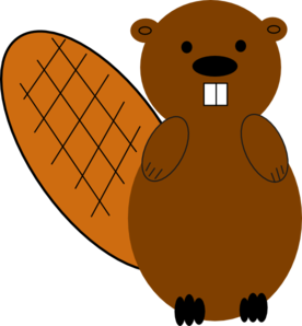 276x298 Beaver No Smile Clip Art