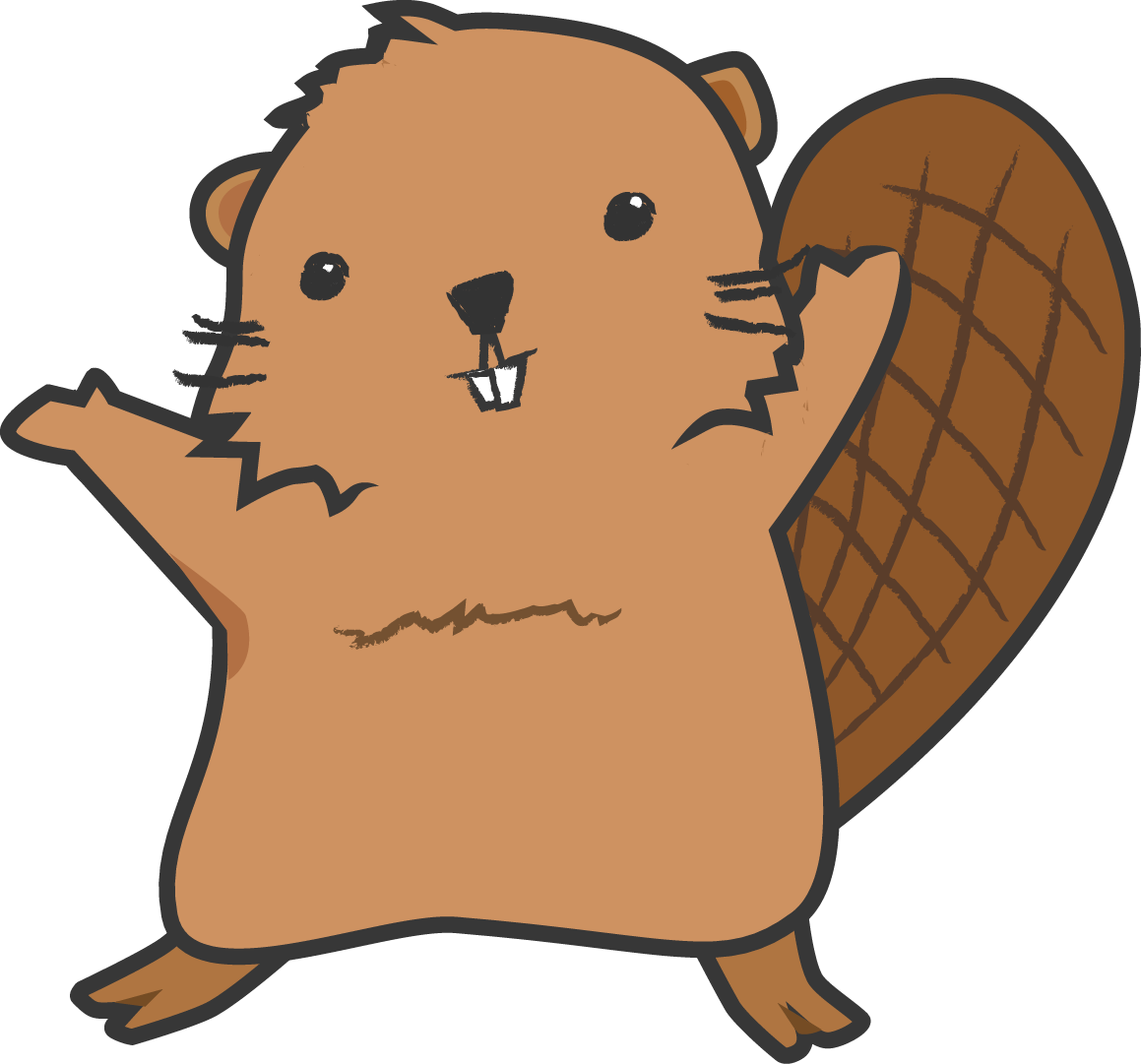 1159x1081 Collection Of Beaver Clipart Transparent High Quality, Free