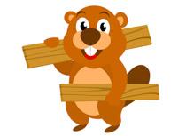 210x153 Free Beaver Clipart