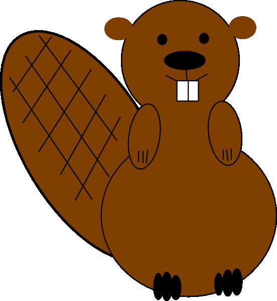 552x600 Clipart Beaver Beaver Clip Art