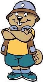 144x273 Beaver Clipart
