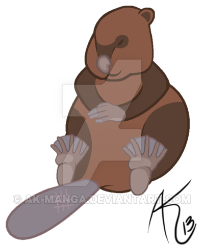 400x483 The Dam Beaver By Ak Manga