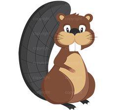 236x224 Cute Beaver Drawings