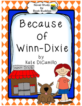 271x350 Because Of Winn Dixie Novel Study By Book Buddies Tpt