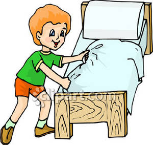 300x283 Boy In Bed Clipart Boys Bed Clipart 1