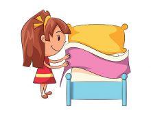220x165 Clip Art Make Bed Bed Clip Art